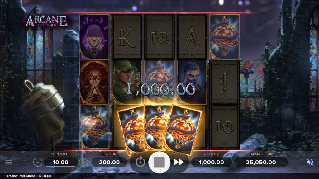 Arcame Reel Chaos Slot Free Spins Feature