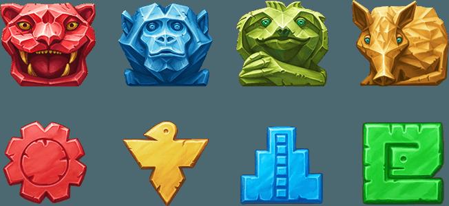 Temple of Nudges Symbols